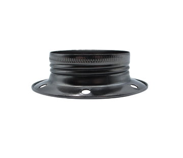 Kynda Light Metal ring for E27 lamp holder with external thread - ⌀60mm | Dark grey