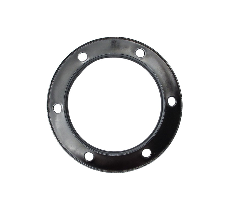 Metal ring for E27 lamp holder with external thread - ⌀60mm | Dark grey