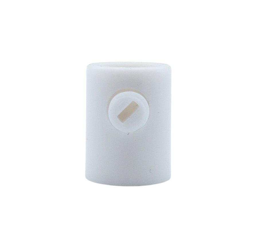 Trekontlaster wit (inwendige schroefdraad) - M10x1