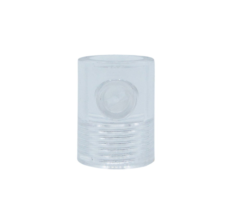 Strain Relief Transparant (internal thread) - M10x1