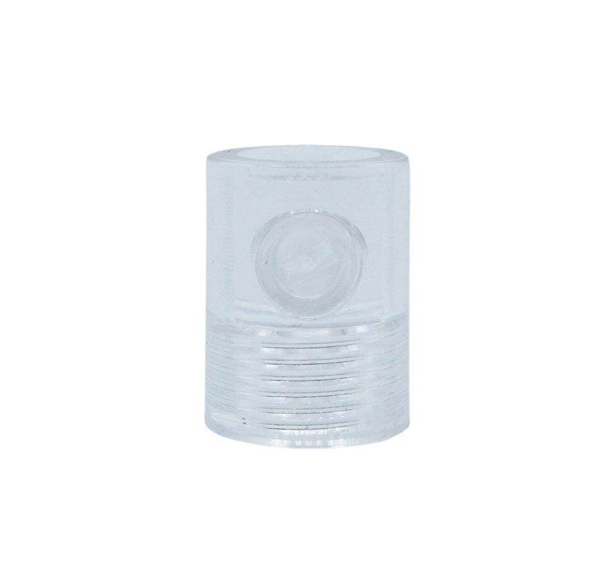 Zugentlastung transparent (Innengewinde) - M10x1