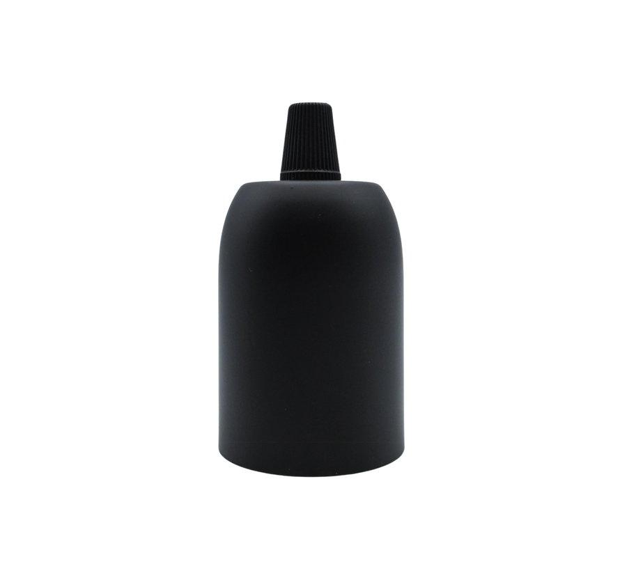 Fitting 'Soren' metaal Zwart E27