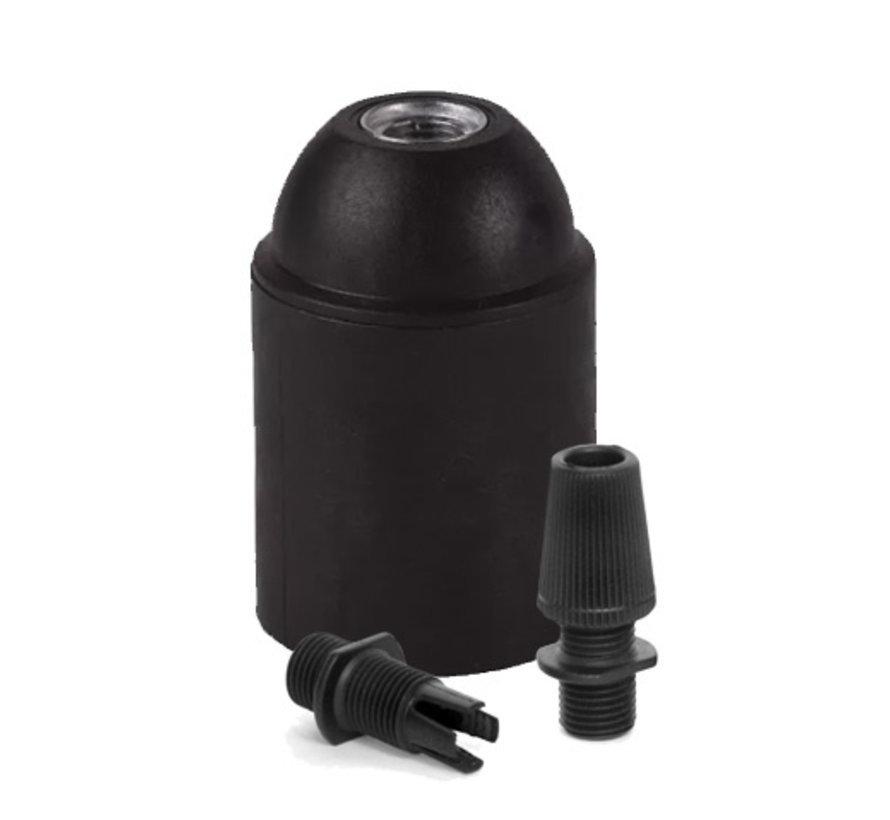 Lamp holder 'Sigvor' metal black