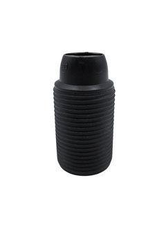 Kynda Light Plastic Lamp Holder External Threaded - Black - E14