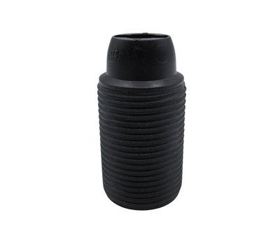 Kynda Light Plastic Lamp Holder External Threaded - Black - E14)