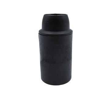 Kynda Light Plastic Lamp Holder - Black (E14)