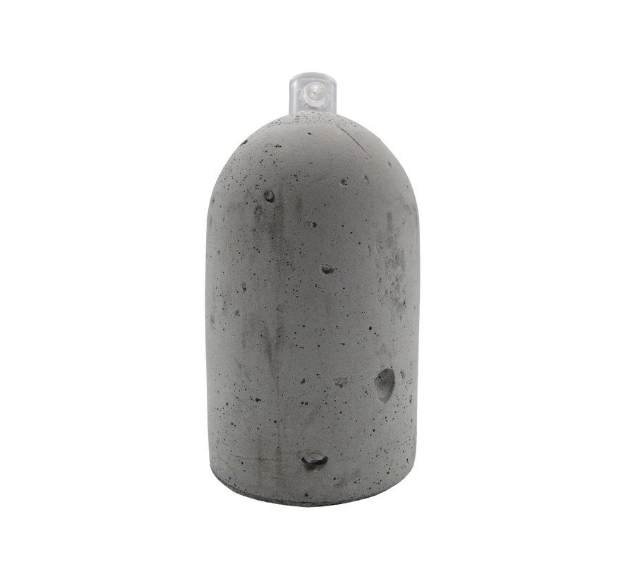 Fitting 'Per' beton Grijs E27