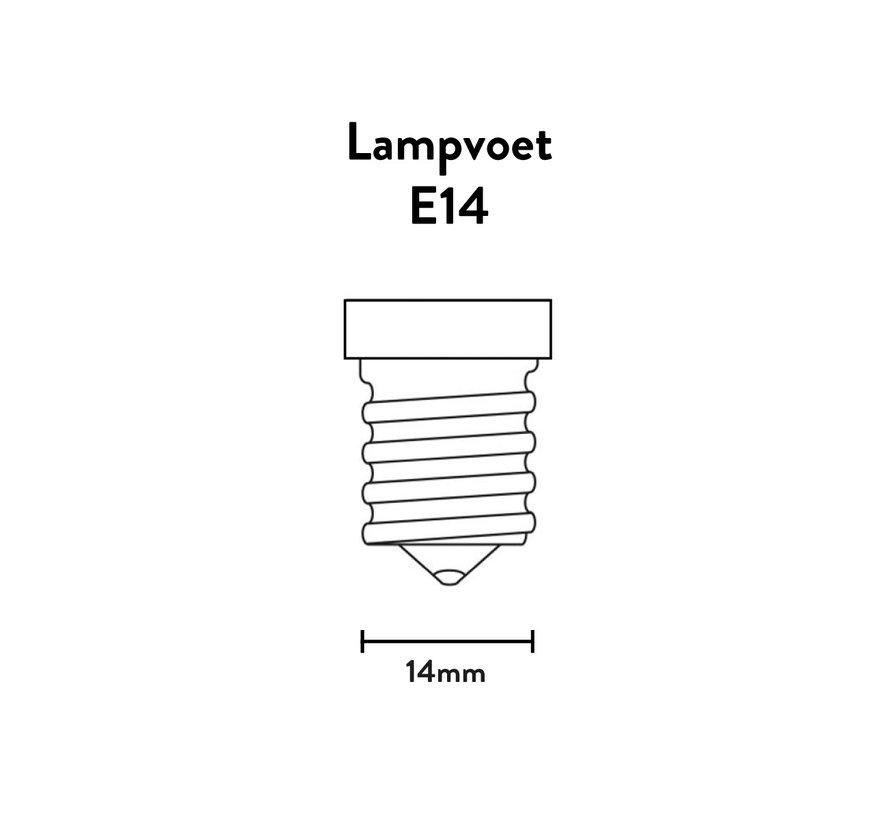 LED lamp helder - Kogellamp - 3,5W E14 - 2700K - Dimbaar