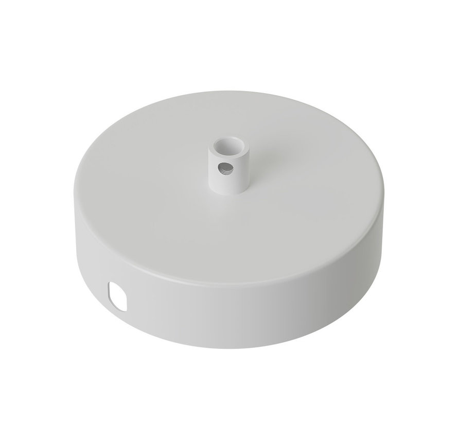 Calex Metal Ceiling Rose - 1 cord | White