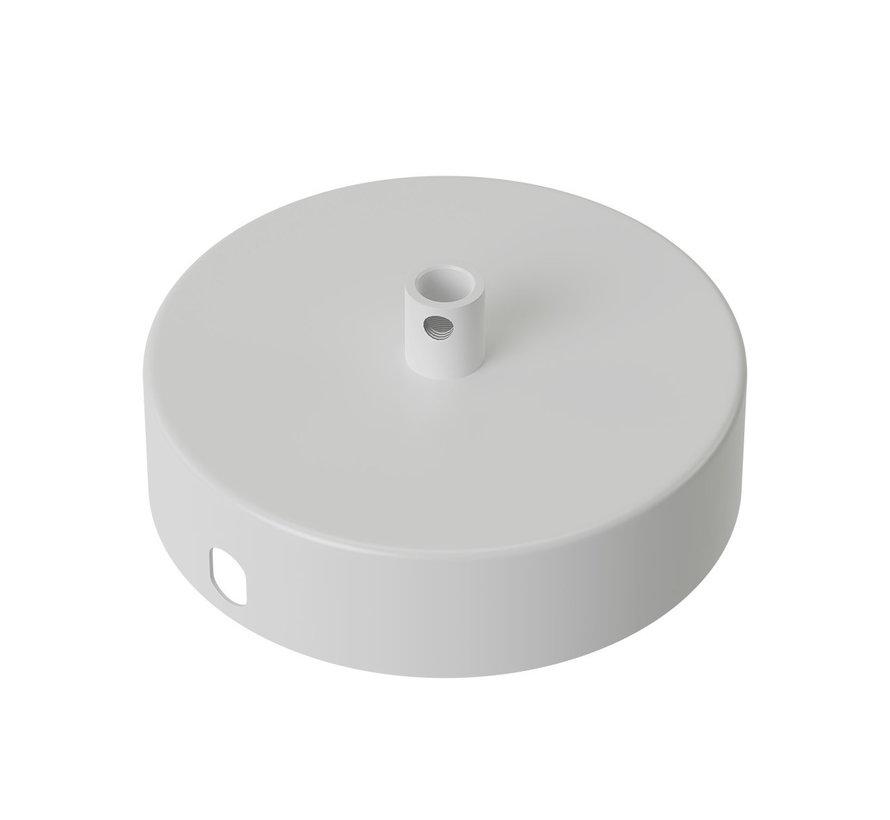 Calex Plafondkap geschikt voor 1 snoer  (1gats)| Wit