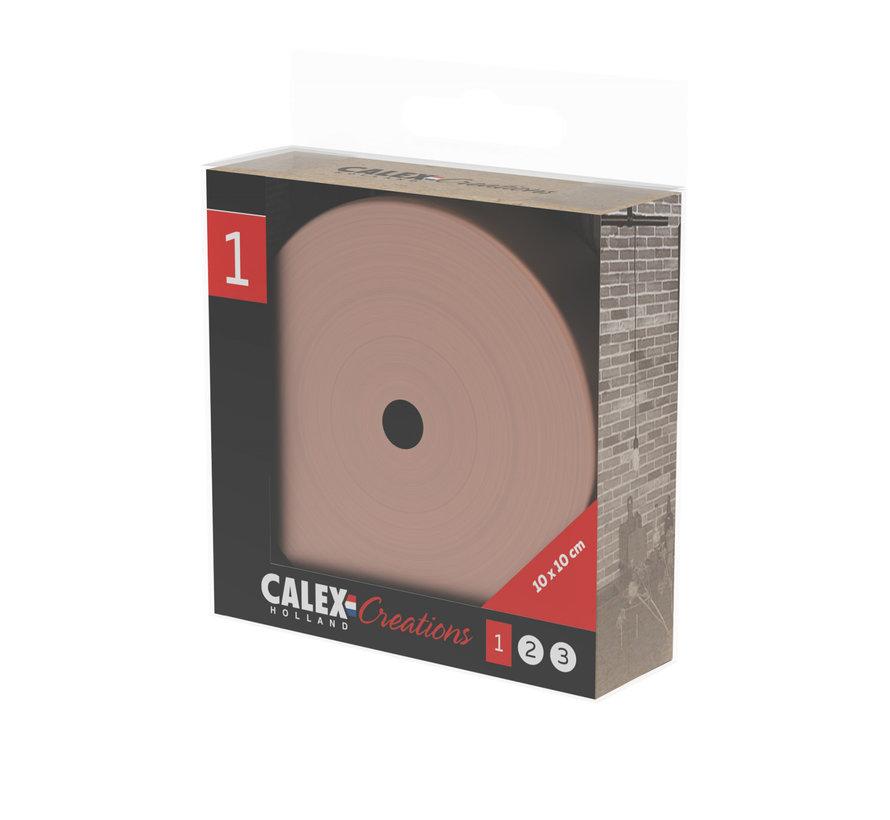 Calex Deckenbaldachin Metall - 1 Loch | Kupfer (matt)