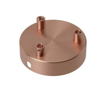 Calex Calex Deckenbaldachin Metall - 3 Loch   Kupfer
