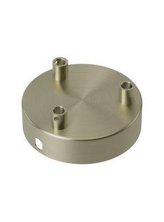 Calex Calex Plafondkap - 3 snoeren | Brons