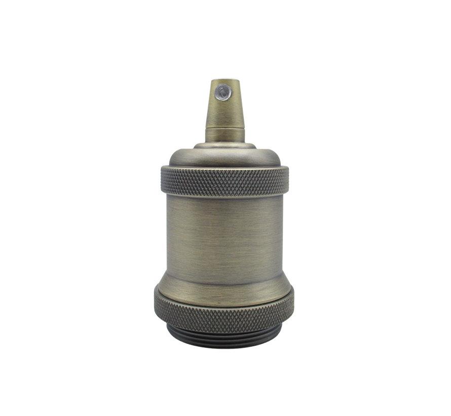 Calex Lampholder Metal -  'Model Piek' E27 | Bronze (matt)