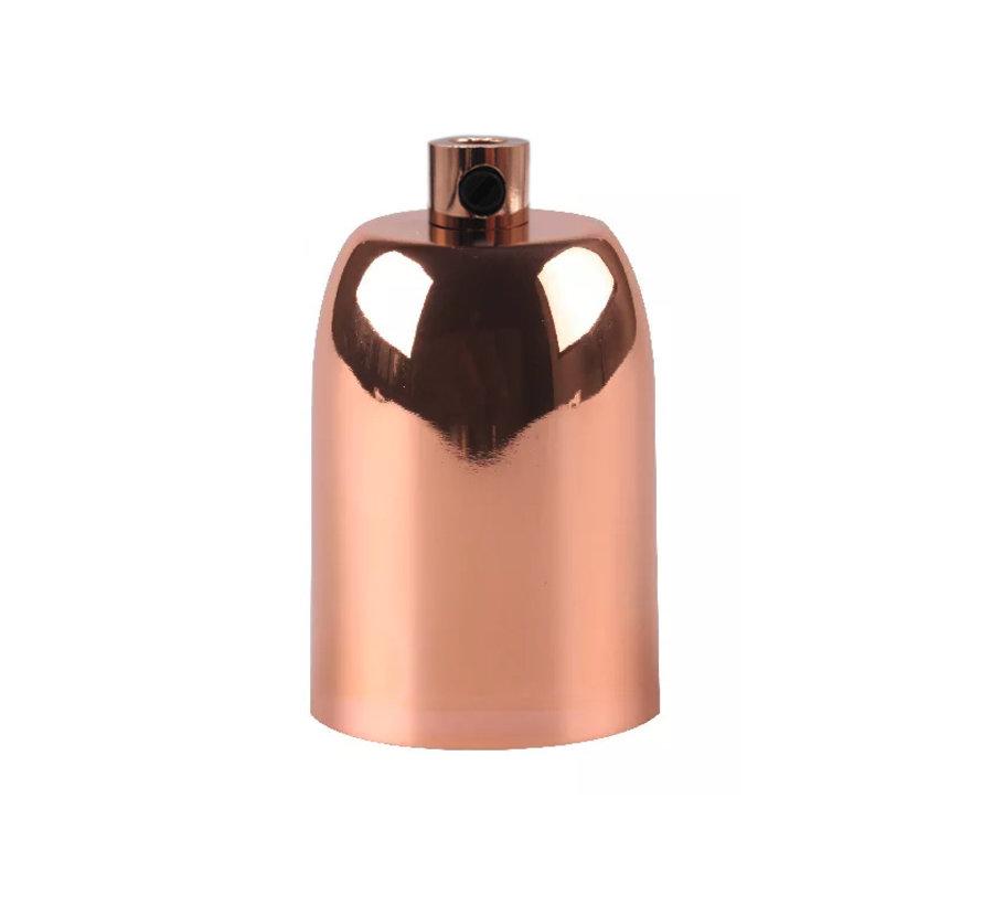 Metal Lamp Holder 'Lova' Copper