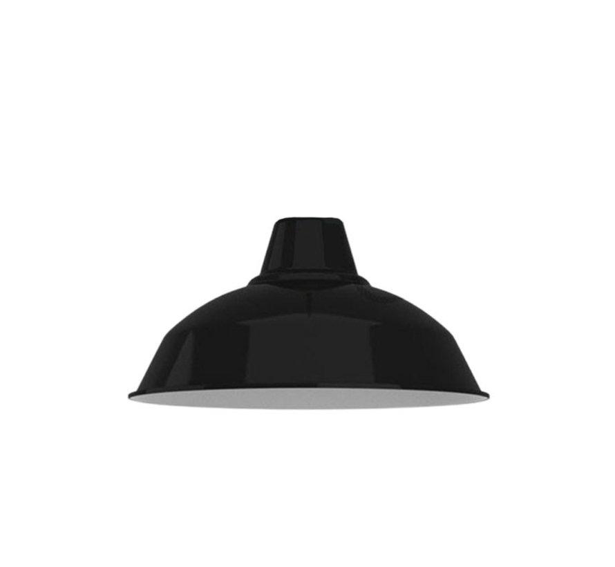 Lampenschirm industriell 'Eris' Metall Schwarz - E27
