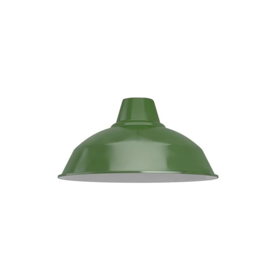 Industriële lampenkap 'Eris' metaal Groen - E27