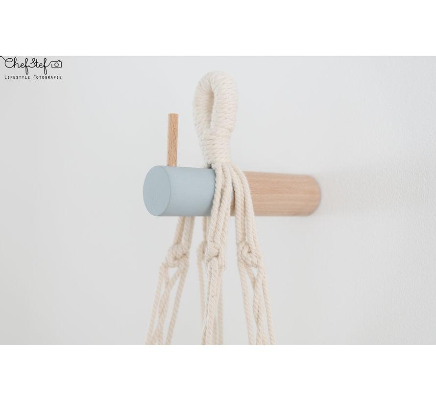 Dippie Stick XL Wandhaak   Bashful Blue