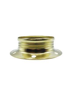 Kynda Light Metal ring for E27 lamp holder with external thread - ⌀60mm | Gold