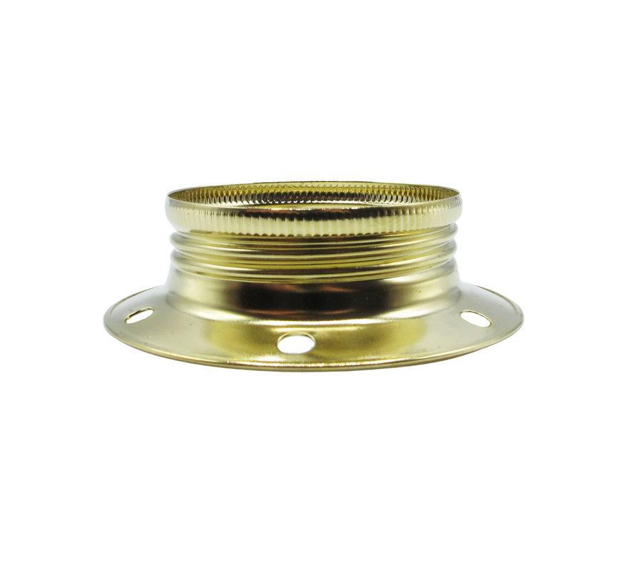 Ring voor E27 fitting met buitenschroefdraad - ⌀60mm | Goud