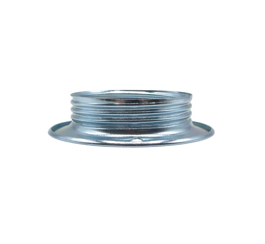 Metall Schraubring / Stellring E27 - ⌀56,5mm | Chrom