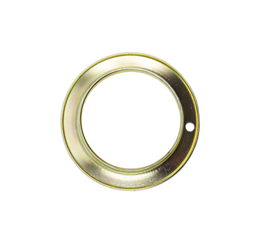 Metal ring for E27 lamp holder with external thread - ⌀56,5mm | Brass