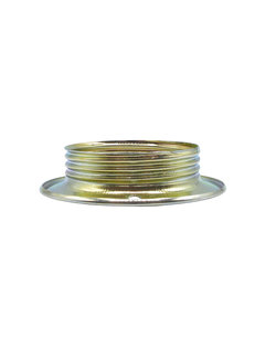 Kynda Light Metal ring for E27 lamp holder with external thread - ⌀56,5mm | Brass