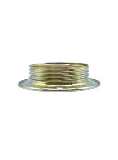 Kynda Light Metalen schroefring E27 - ⌀56,5mm | Messing