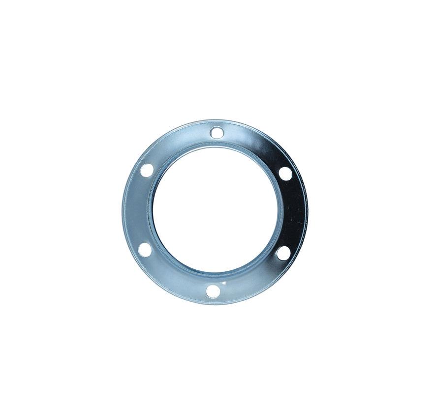 Ring voor E27 fitting met buitenschroefdraad - ⌀60mm | Chroom