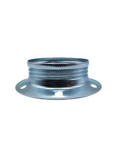 Kynda Light Metal ring for E27 lamp holder with external thread - ⌀60mm | Chrome