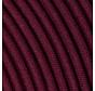 Textilkabel Aubergine - rund, leinen