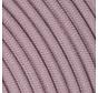 Strijkijzersnoer Lavendel - rond, linnen