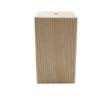 Kynda Light Fassung 'Woody' Holz Quadrat Modell (hoch)