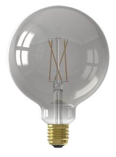 Calex SMART LED Light - G125 Globe - E27/7W | Smoky Titanium