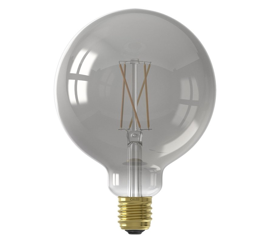 SMART LED-Lampe Smoky Titanium Globe Lichtquelle - G125 - E27 - 220-240V - 7W - 400lm - 1800-3000K