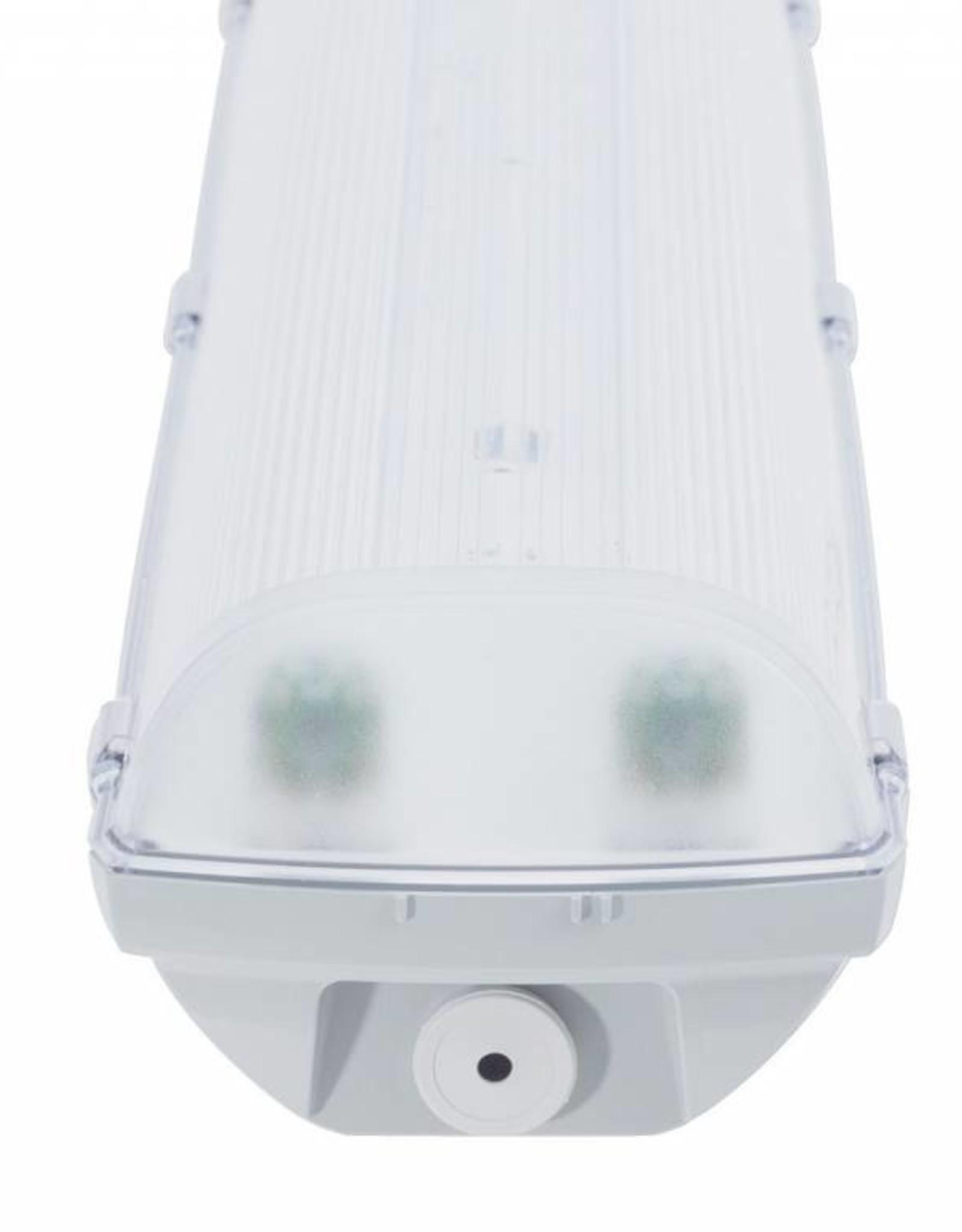 Prima 2x36W - ABS - inox clips - HF ballast