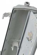 Prima 1x18W - ABS - inox clips - Dimbare elektronische ballast