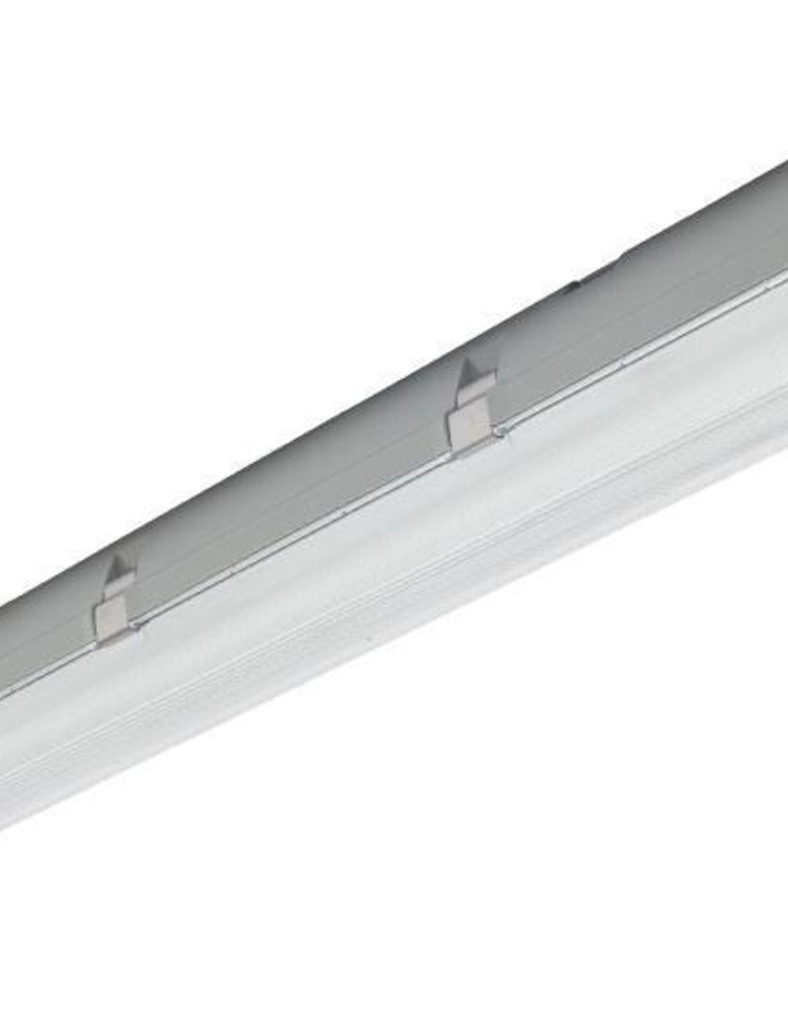 Prima 2x36W - ABS - inox clips - HF dimbare ballast
