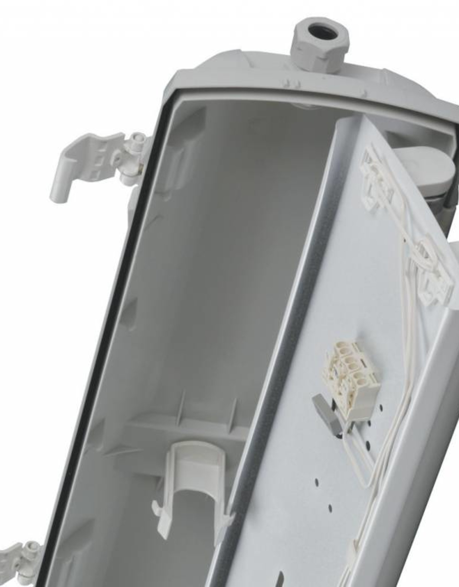 Prima 1x35W HE - ABS - inox clips - dimbare ballast