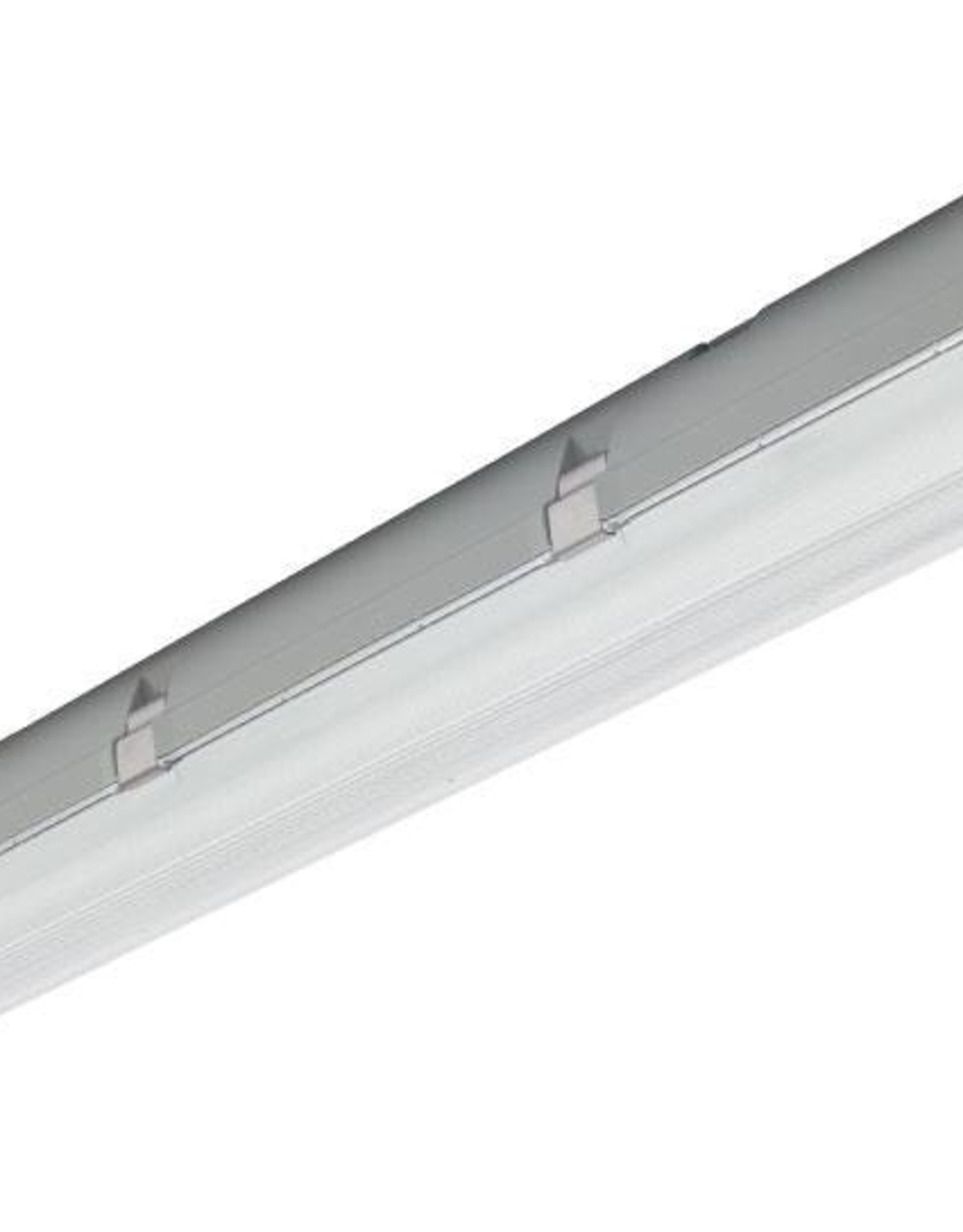 Prima 2x28W HE - ABS - inox clips - dimbare HF ballast