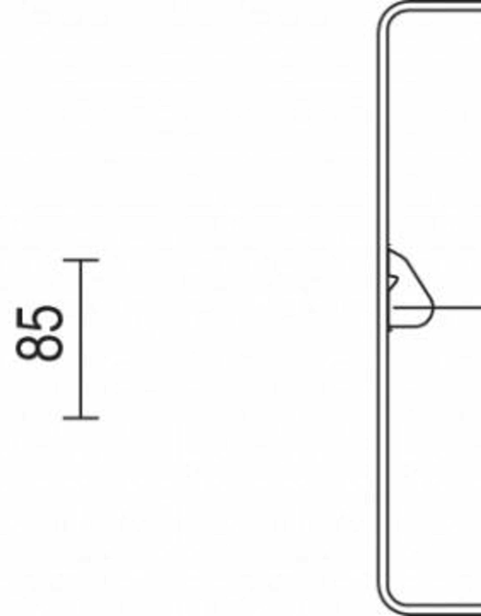 LINEA SQUARE 1800/840 M3h