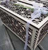 Enveloppendoos met Origami Bloemen XL