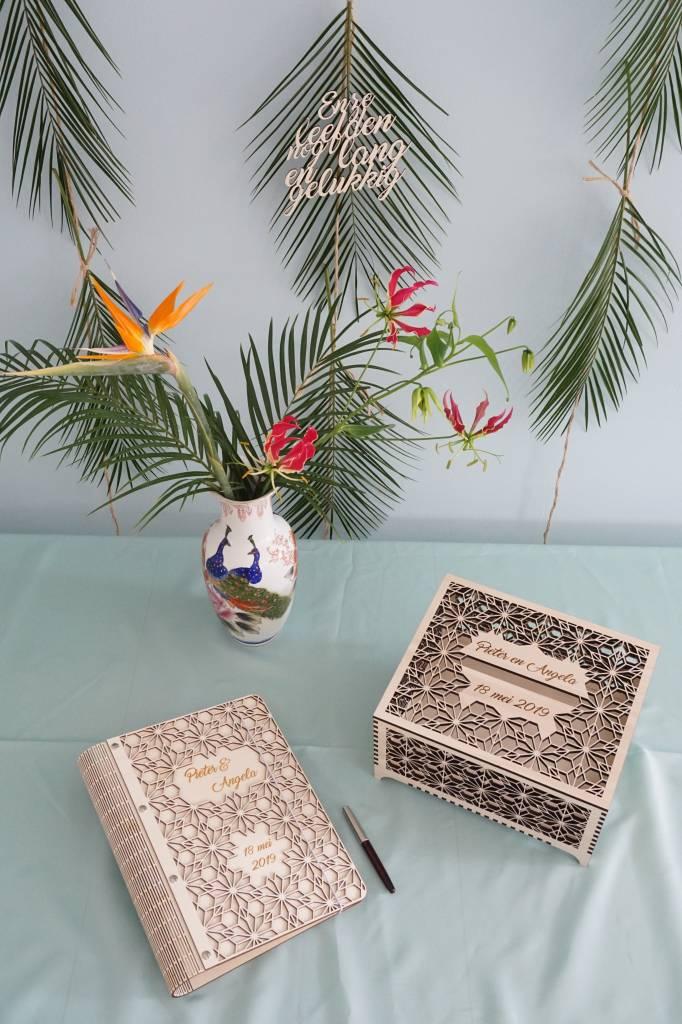 Enveloppendoos Origami bloemen M