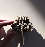 Happy 2020 prikker