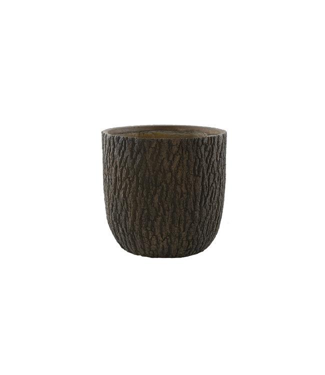 Plantenbak Olympic 50 cm houtskleur