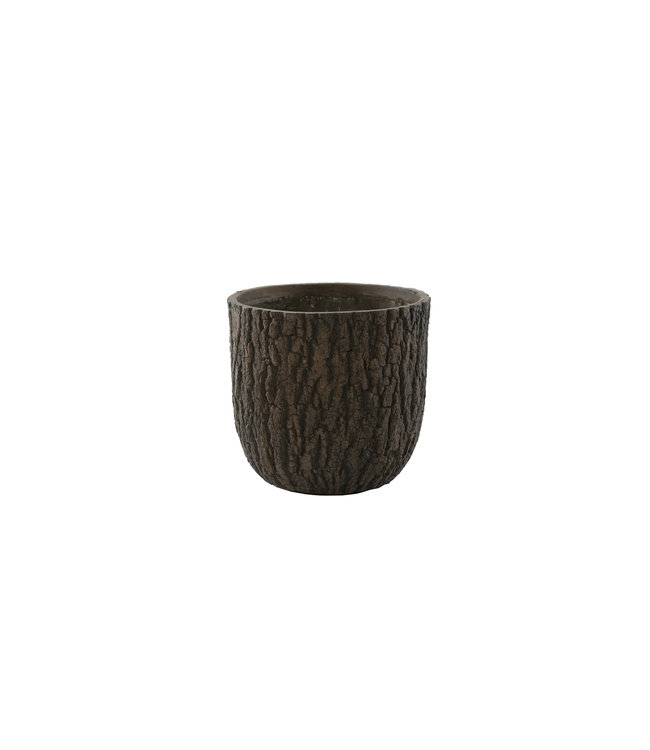 Plantenbak Olympic 34 cm houtskleur