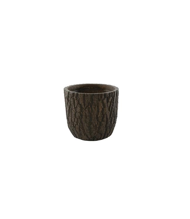 Plantenbak Olympic 27 cm houtskleur