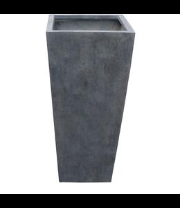 "Plantenbak Fiberclay taps ""Athos"" 48x48x105 cm"