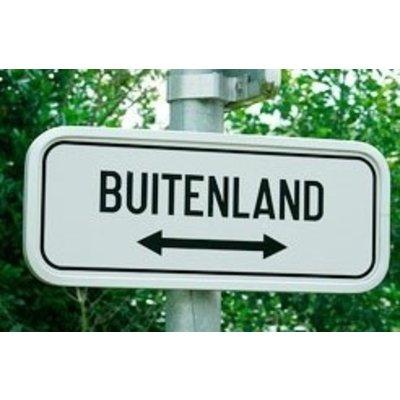 Bezorging buiten Nederland