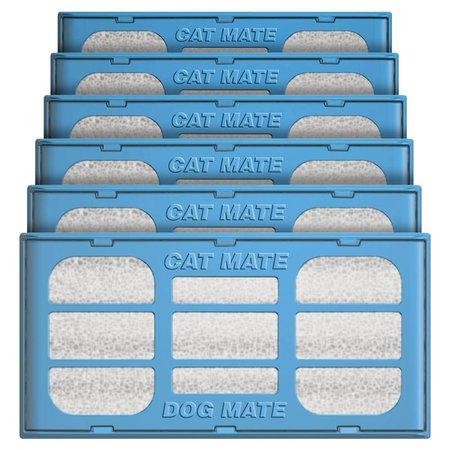 Catmate Filterpatronen 6 stuks voor Cat Mate en Dog Mate drinkfonteinen